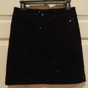 Loft sequined skirt